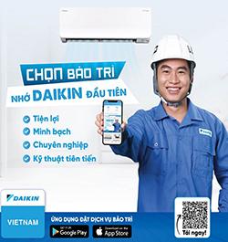 Daikin-Vietnam-gioi-thieu-ung-dung-dich-vu-bao-tri